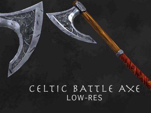 Celtic Battle Axe